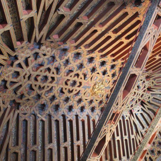 Ejemplo de arte mudéjar en Granada