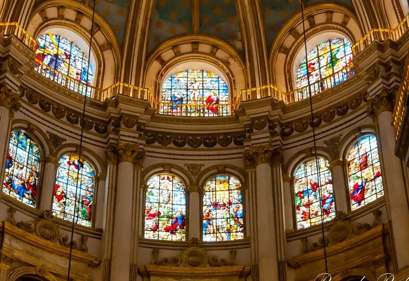 Vidrieras de la Catedral de Granada